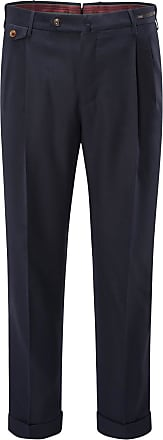 Pantaloni Torino Wollhose Gentleman Fit navy bei BRAUN Hamburg