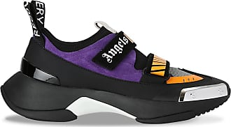 Palm Angels Black and orange Recovery sneakers