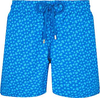 Vilebrequin Hawaii Blau Polyamid Micro Ronde Des Tortues Moorea Badeshorts - Hawaii Blue | xxl