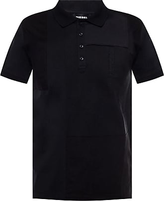 Diesel Polo Shirt With Logo Mens Black