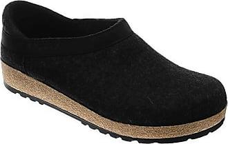 cf52e5bbaeb Haflinger GZH Black Wool Slippers  Size EU 42 (Us Womens 11  Mens