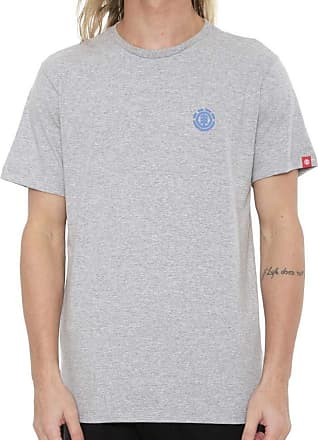 Element Camiseta Element Soft Crew Cinza