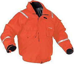 COLEMAN Adult Powerboat Flotation Jacket PFD - Orange - Size:L