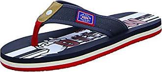 Mustang 4113-705 Herren Zehentrenner Pantoletten Clogs Schuhgröße:44 Eu Farbe:blau