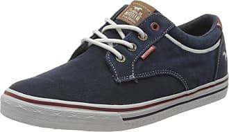 Mustang Mens 4147-303-820 Low-Top Sneakers, Blue (Navy 820), 9 UK