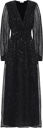 Oséree Exclusive to Mytheresa - Sequined satin maxi dress