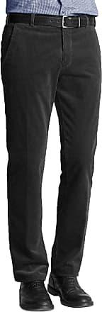 Generic Mens Corduroy Cord Trousers Cotton Formal Smart Casual Big Plus Size Pants[Black,34 Waist 27 Leg]