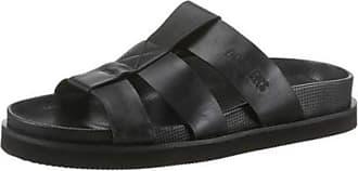 Dockers by Gerli Mens Mules Sandals Black Black Size: 9 UK