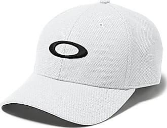 reputable site d0971 409c6 Oakley Mens Golf Ellipse Hat, White, One Size