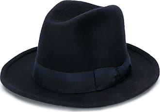 Ami ribbon detail wool hat - Blue