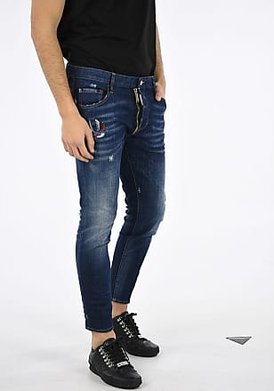 Dsquared2 16cm Embroidered SKATER Jeans size 54