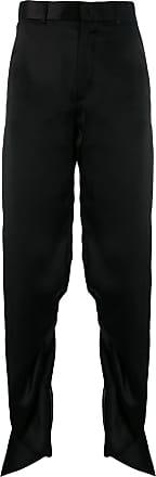 Y / Project ruffle style palazzo pants - Black