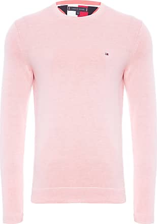 Tommy Hilfiger SUÉTER MASCULINO DOUBLE FACE CREW NECK - ROSA