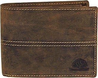 5b7a315c77281 Greenburry Vintage Herren Leder Geldbörse Portemonnaie Geldbeutel 1705-25