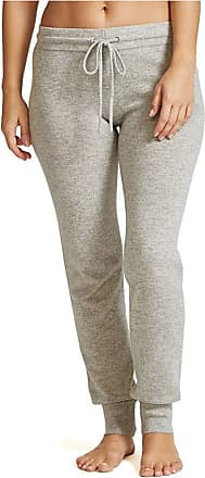 Figleaves Womens Bliss Cashmere Cuffed Jogger Size Medium in Silver
