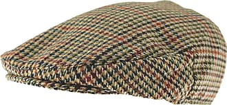 Hawkins Country Collection Wool Flat Cap in Red, Size: Large (59cm)