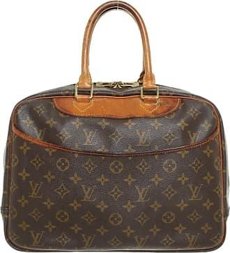 a6792053132a1 Louis Vuitton gebraucht - Handtasche aus Canvas in Braun - Damen - Canvas