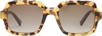 Givenchy Oversized Squared Tortoiseshell-acetate Sunglasses - Womens - Tortoiseshell
