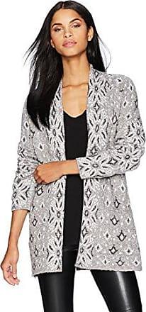 Lucky Brand Womens Lauryn Cardigan Sweater, Grey/Multi, S