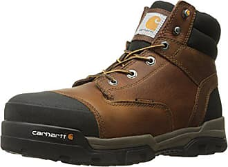 Carhartt Work in Progress Mens Ground Force 6-Inch Brown Waterproof Work Boot - Composite Toe, Peanut Oil Tan Leather, 11.5 W US - New For 2017 - CME6355