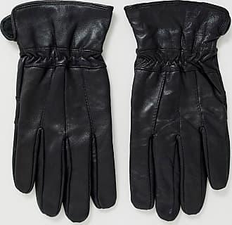 Boardmans leather gloves in black