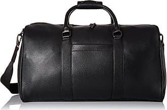 Steve Madden Mens Overnighter Duffle Bag Midnight Black