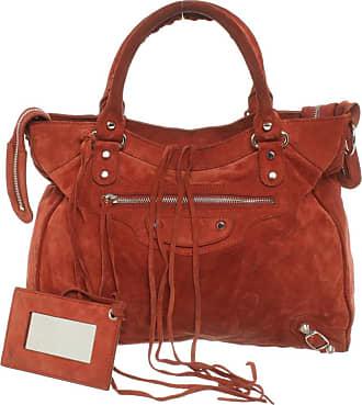 Balenciaga gebraucht - Balenciaga-City Bag aus Wildleder in Braun - Handtasche - Damen - Wildleder