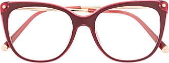Dolce & Gabbana Eyewear Armação de óculos quadrada - Vermelho