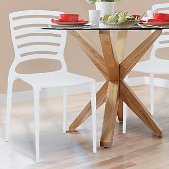 Tramontina Cadeira Sofia com Encosto Horizontal Branco