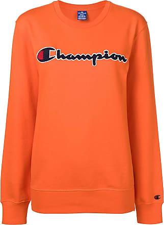 d5d389686909 Champion crew neck logo sweatshirt - Orange