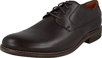 Clarks Becken Plain Mens Formal Lace Up Shoes 10.5 Black