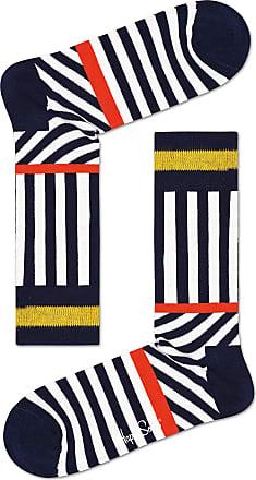Happy Socks Mens Striped Stripes Sock 6500 10-13