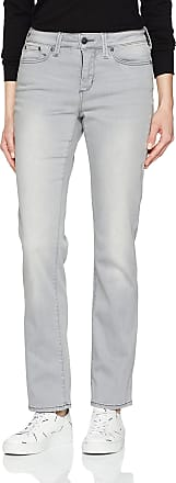 Women/'s White or Beige Shaping Stretch NYDJ Sheri Slim Jeans UK Size 4 to 16