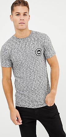Hype t-shirt in rib with crest logo-Grey