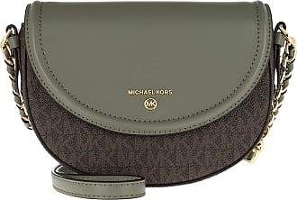 Michael Kors Cross Body Bags - Jet Set Charm Medium Dome Crossbody Army Green - green - Cross Body Bags for ladies