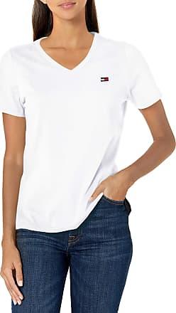 Tommy Hilfiger Womens Tjw Slim Jersey V Neck T-Shirt
