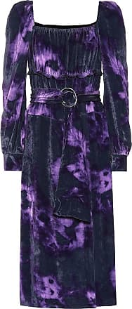 Altuzarra Adrienne silk-blend velvet dress