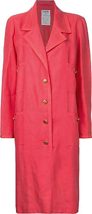 Chanel long sleeve coat - Red