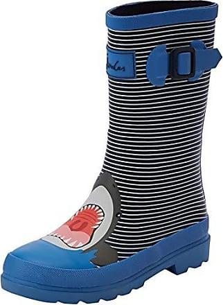 f4ea85a0 Joules Welly Print, Botas de Agua para Niños, Azul (Blue Stripe Shark  Blustrpshk