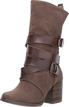 fcdcbc0c77 Blowfish Blowfish Womens Dahl Harness Boot, Chocolate Saddle Rock/Dyecut  PU, 9 M