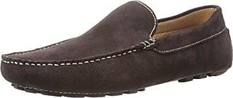 Zanzara Mens Picasso Slip-On Loafer, Brown, 12 M US
