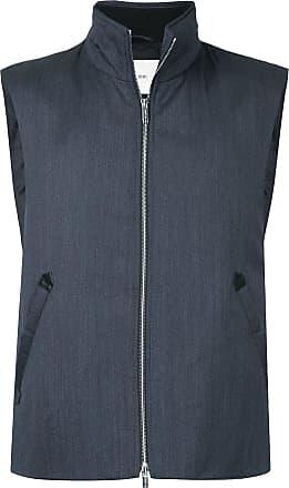 Cerruti zipped gilet jacket - Blue