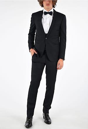 Corneliani Virgin Wool 3 Pieces CERIMONIA ACADEMY Suit size 50