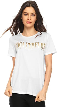 5d8d9d7de2 Feminino Branco T-Shirts Casuais  Compre com até −58%