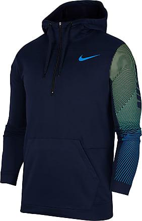 Nike Dry Hoodie Herren in obsidian-soar-soar, Größe XXL