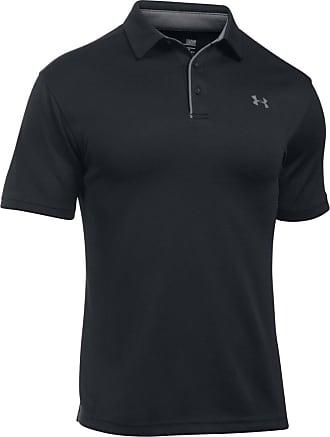 Under Armour Camiseta Tech Polo Preta - Homem - Preto - GG BR