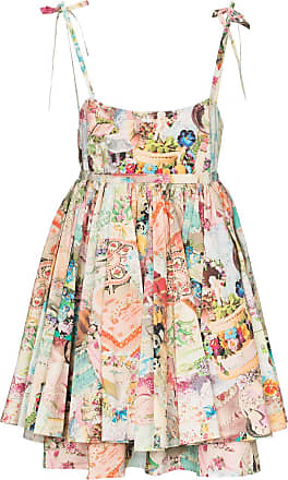 Marc Jacobs Babydoll cake print dress - Estampado