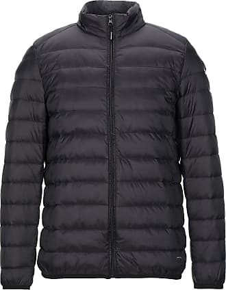 Ebony cappotto nero trapuntato