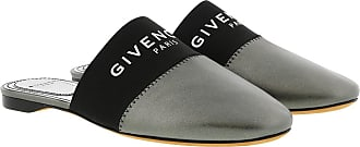 Givenchy Loafers & Slippers - Bedford Mules Leather Gunmetal - silver - Loafers & Slippers for ladies