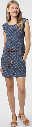 Ragwear Damen Kleid - Tag Dots blau